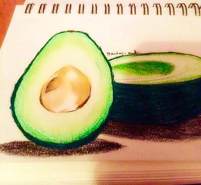 jak rysować owoce