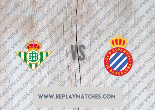 Real Betis vs Espanyol Highlights 19 September 2021