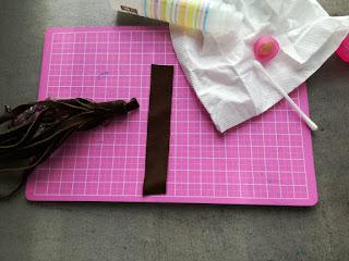 glue tassel DIY tassel Craftrebella