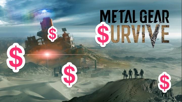 Konami, Metal Gear Survive e a imoralidade na monetização nos games