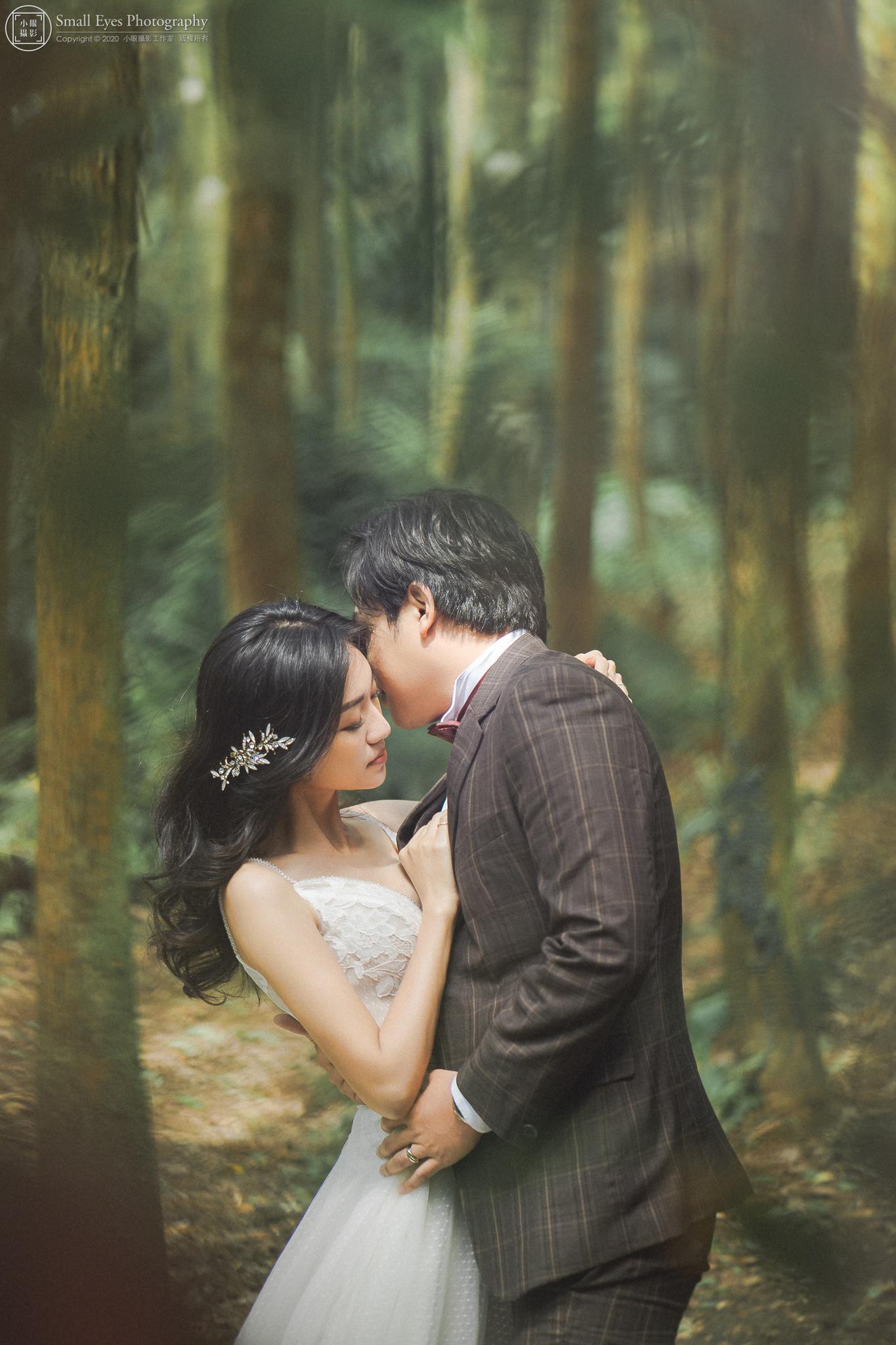 小眼攝影,婚紗攝影,婚攝,吉兒婚紗,新秘瓜瓜,自助婚紗,自主婚紗,台灣,台北,陽明山,森林