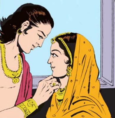 Pradyumna and Prabhavati