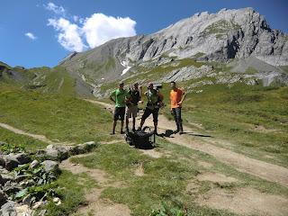 Tumulus Plandes Dames Tour del Mont Blanc