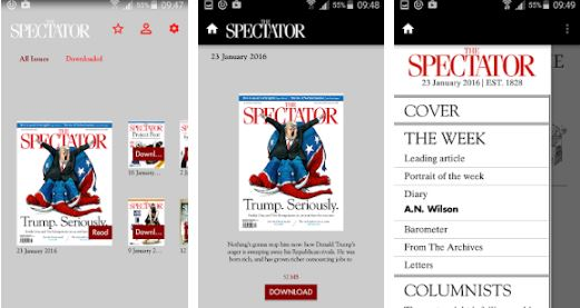 the spectator magazine apk download
