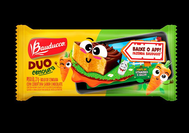 Duo Cenoura Bauducco - 27g