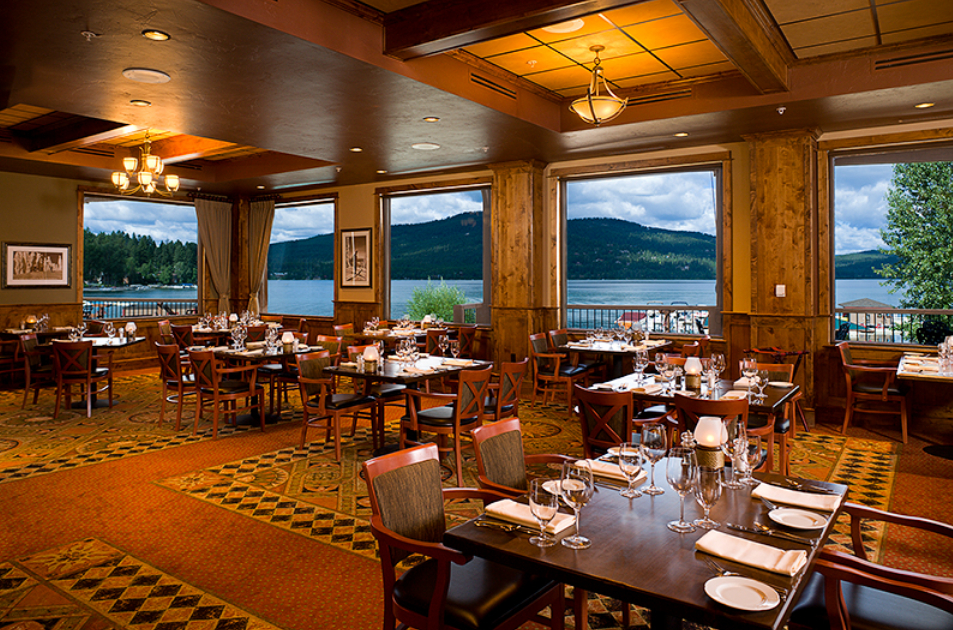 The Lodge at Whitefish Lake Wedding Venues
