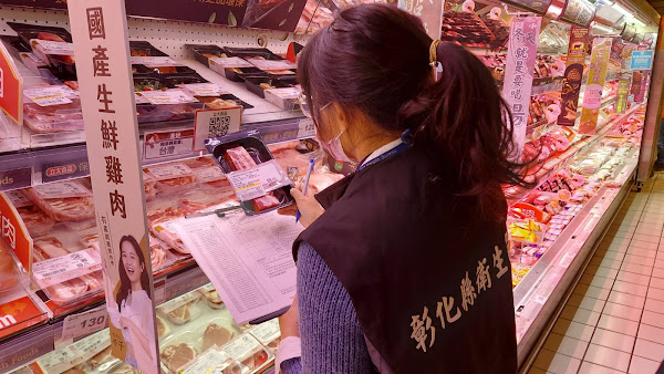 豬肉原產地標示今上路 彰化縣衛生局展開稽查