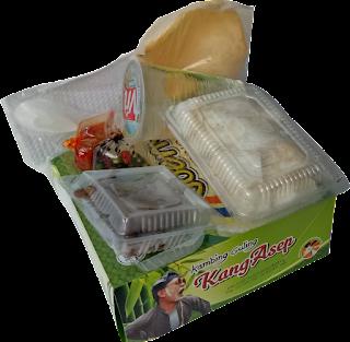 Nasi Box Zaman Now Simpel dan Unik di Bandung