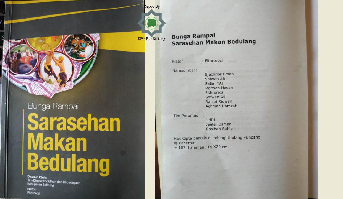 Resensi Buku Bunga Rampai Sarasehan Makan Bedulang Komunitas Peta Belitung