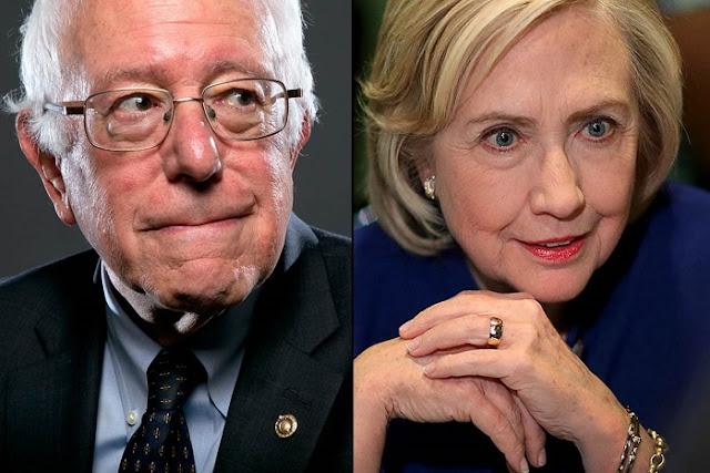 Apoiantes de Sanders ficam irritados com a notícia da vitória de Clinton