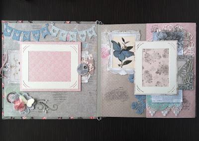 Скрапбукинг альбом scrapbooking album Fleur Design