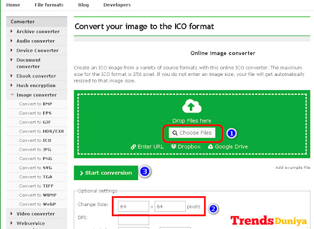 How to Convert JPG/PNG File Into ICO File In Hindi