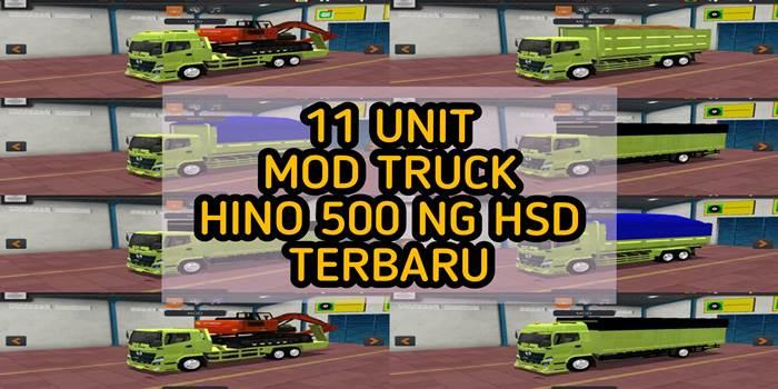 mod truck hino 500 ng hsd bussid full varian terbaru