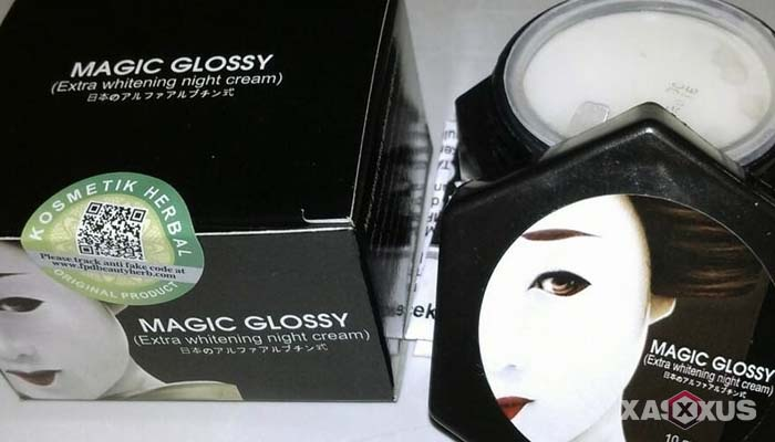 Cream pemutih wajah yang aman dan bagus - Magic Glossy