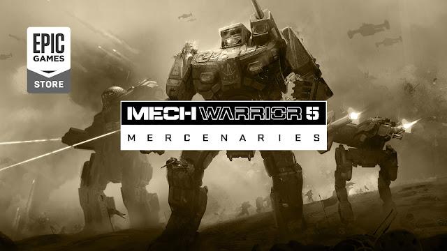 mechwarrior 5 mercenaries delayed december 2019 pc mech brawler epic games store exclusive piranha games
