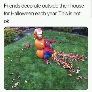 Halloween Decoration Meme by @imgur on Instagram