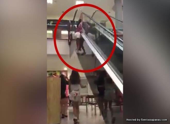 Video Remaja Perempuan Berlagak Patah Paha Kanan Terjatuh 10 Kaki Di Sandakan