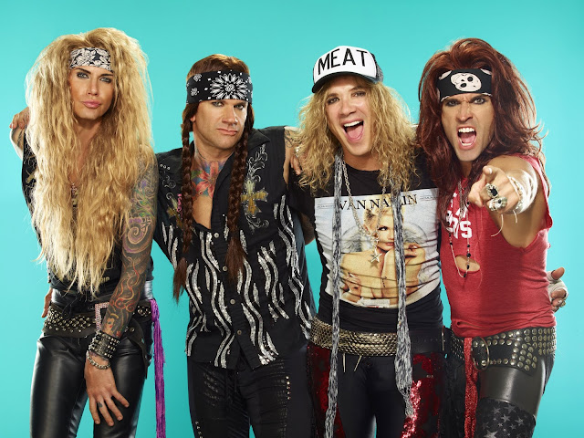 'MEAT' hat as worn by Michael Starr, singer of Steel Panther  #PMRC PunkMetalRap.com