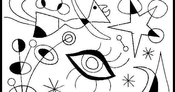 Kandinsky Cuadros Para Colorear Template
