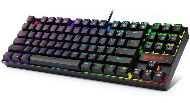Redragon K552: teclado retroiluminado con switches Cherry Blue, teclas mecánicas y anti-ghosting