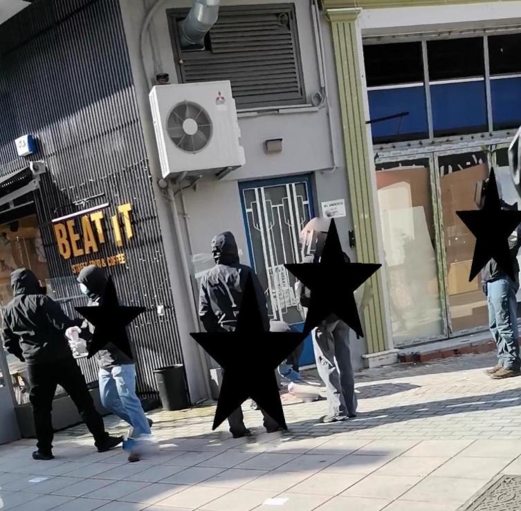 Πέταξαν μπογιές στα γραφεία της ΝΔ στην Ξάνθη για τον Κουφοντίνα [ΦΩΤΟ]