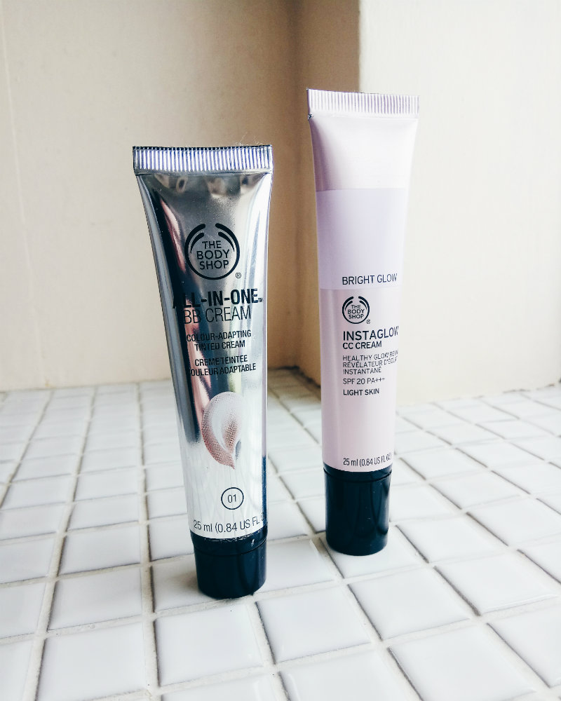 The Body Shop Vegan BB Cream & CC Cream