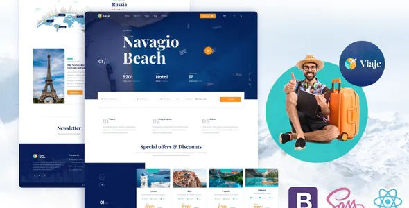 Best Travel and Tour Website Template
