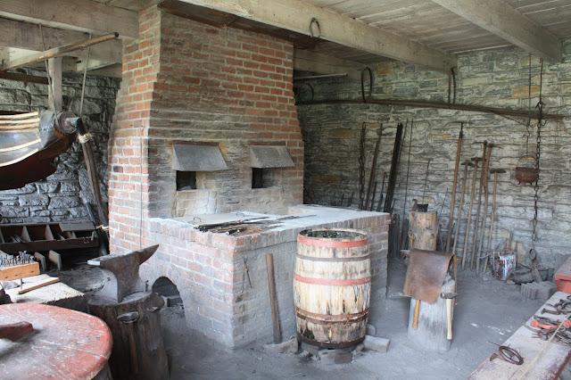 Blacksmith shop at Fort Snelling