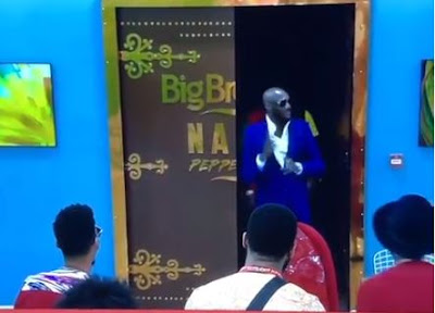 #BBNaija: 2baba And Larry Gaga Visit The Big Brother House