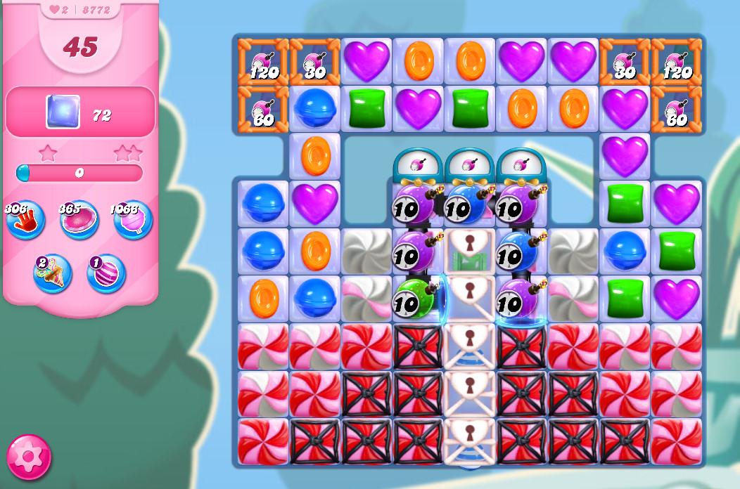 Candy Crush Saga level 8772