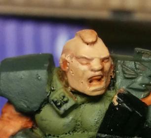 malowanie twarzy - poradnik - krok 3