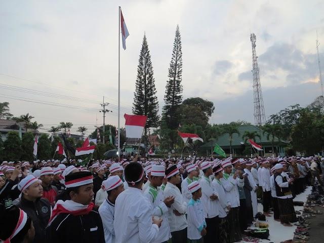 Makodim 0615/Kuningan Gelar Acara 1717 Untuk Indonesia  Lebih Kasih Sayang