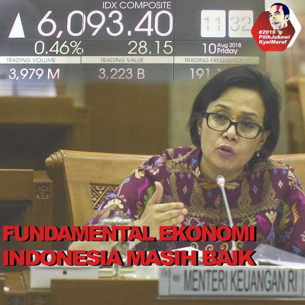 Fundamental Ekonomi Indonesia Masih Baik