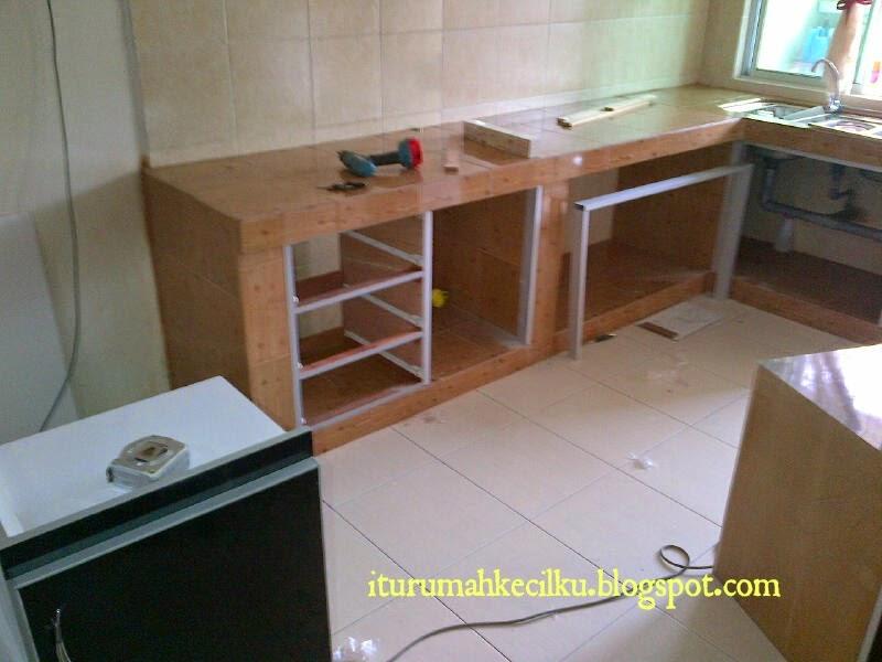 Kabinet Dapur Formica Diy Desainrumahid