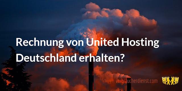 Titel: Rechnung / Offerte von United Hosting Deutschland / Feb 2021