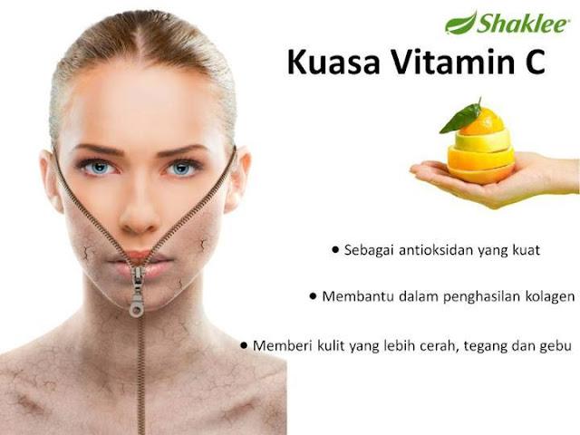 Vitamin Shaklee hilangkan jerawat dengan mudah