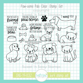 https://www.sweetnsassystamps.com/paw-some-pals-clear-stamp-set/