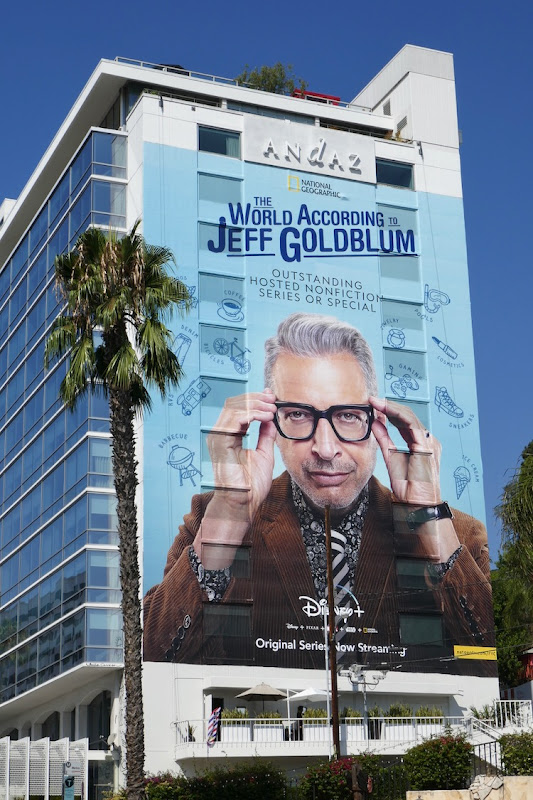 World According Jeff Goldblum 2020 Emmy nominee billboard