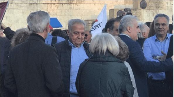 Ντοκουμέντα: Ο αρχηγός της ΕΛ.ΑΣ. στο ακροατήριο, σε τρεις ομιλίες Τσίπρα -Δυσαρέσκεια και ερωτηματικά
