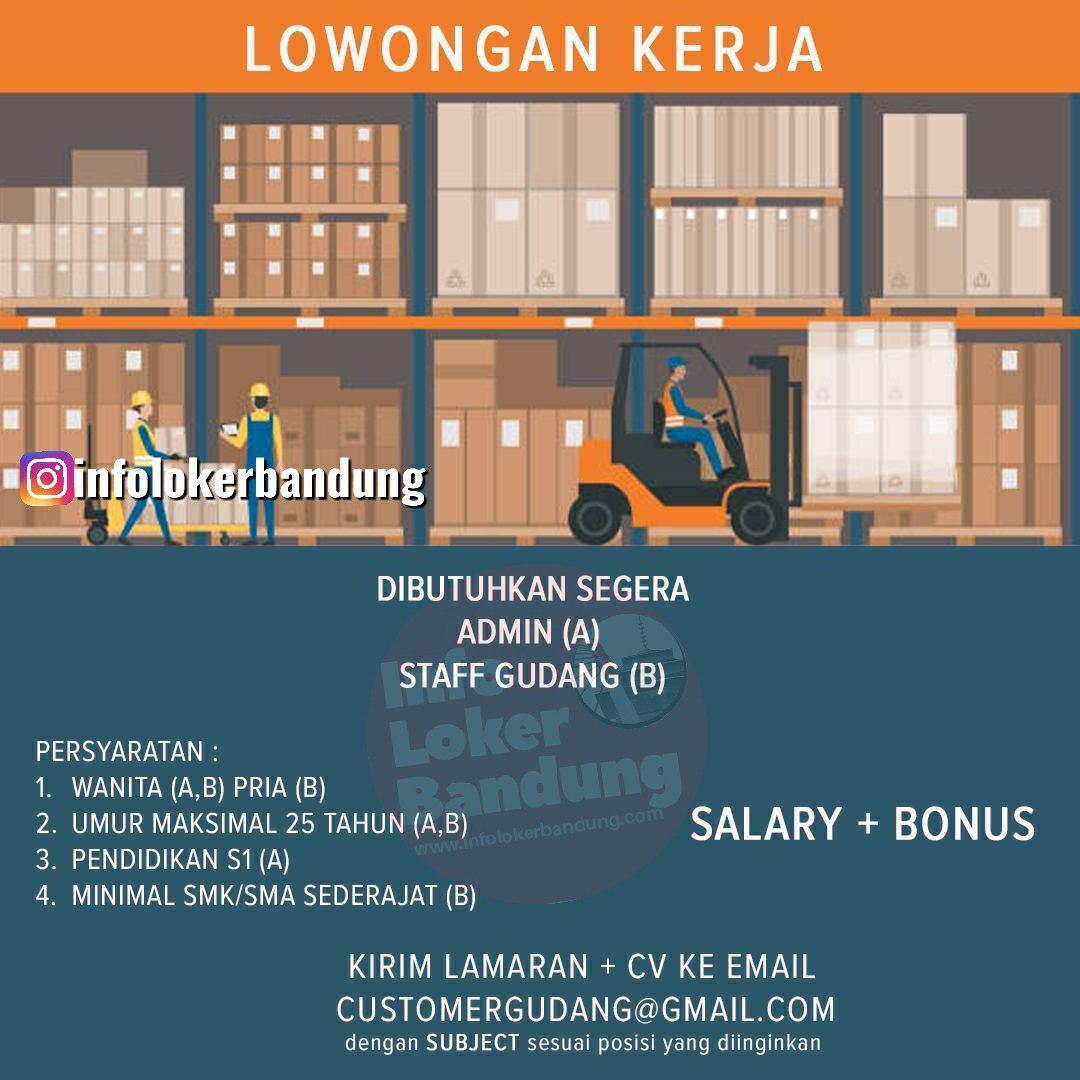 Lowongan Kerja PT.Berkah Alam Semesta Bandung Juli 2019