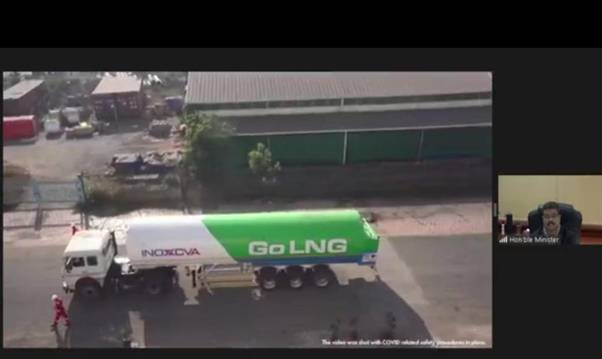 Inauguration-of-LNG-truck-loading-unit