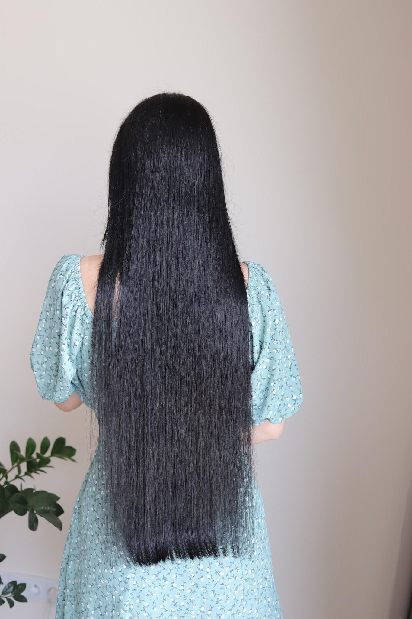 włosy przed cięciem