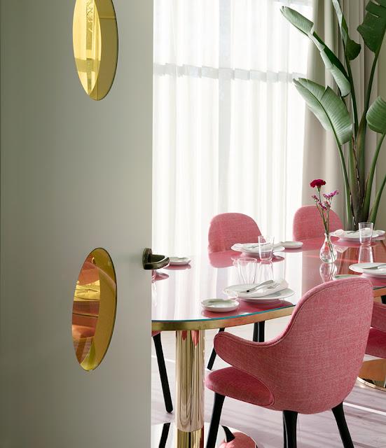 Neues Design für altes Hotel - schicke Einrichtung in angenehmen Farben. Bitte nachmachen!