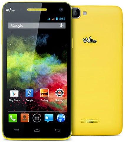 Wiko Rainbow, Ponsel Quad Core KitKat Usung Kamera 8MP Harga 1,4 Jutaan