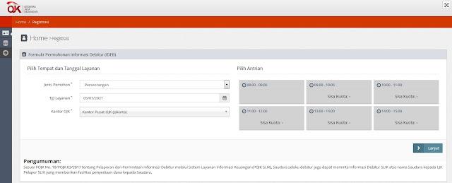 Pendaftaran BI Checking Online