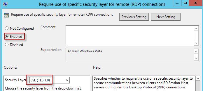 Create Trusted Remote Desktop Services (RDP) SSL Certificate