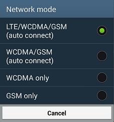 Samsung Galaxy S4 i9505 4G LTE fix