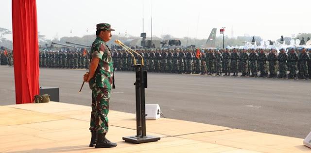 6.000 Prajurit TNI Amankan Pelantikan Anggota Dewan