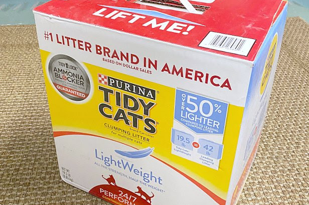 Recycled Cat Litter Cardboard Box