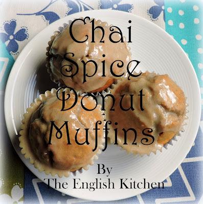 Chai Spiced Glazed Doughnut Muffins